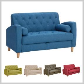 2人掛の北米風のソファー