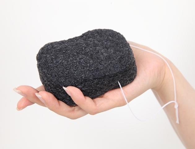 【送料無料】こんにゃくスポンジ『和の力』 洗顔用炭15個セット
