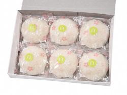 洗顔用こんにゃくパフ『和の力』  白6個箱入/リピート率NO,1