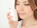 【送料無料】こんにゃくスポンジ『和の力』 洗顔用白15個セット