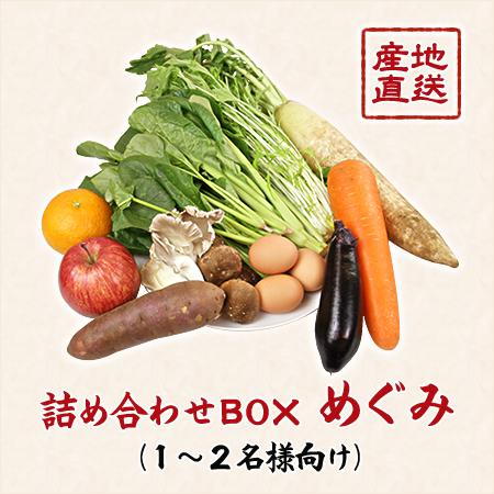 【有機無農薬の逸品】「匠が作った和の野菜」詰め合わせBOX―めぐみ(1~2名様向け)―