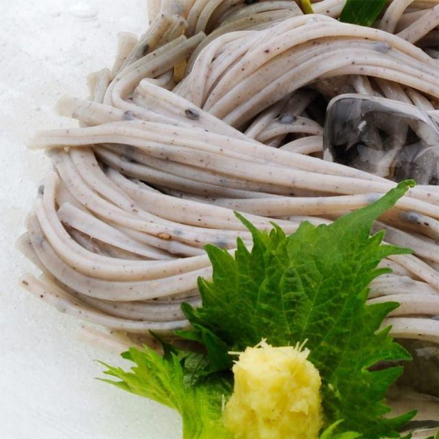 黒五麺,手延べうどん,盛り付け例