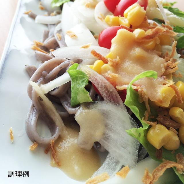 黒五麺,手延べうどん,調理例