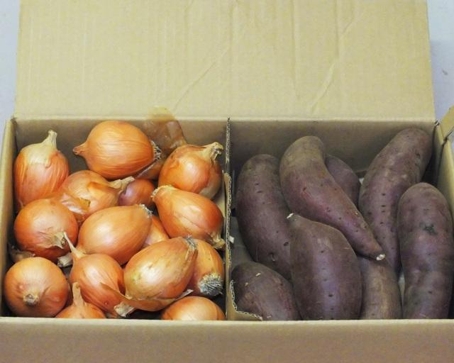 玉ねぎとサツマイモのお得セット画像