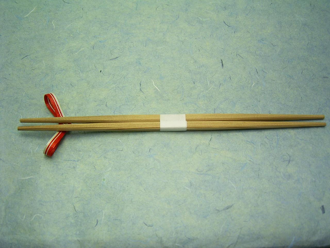 杉箸 らんちゅう 帯巻付 24cm 100膳