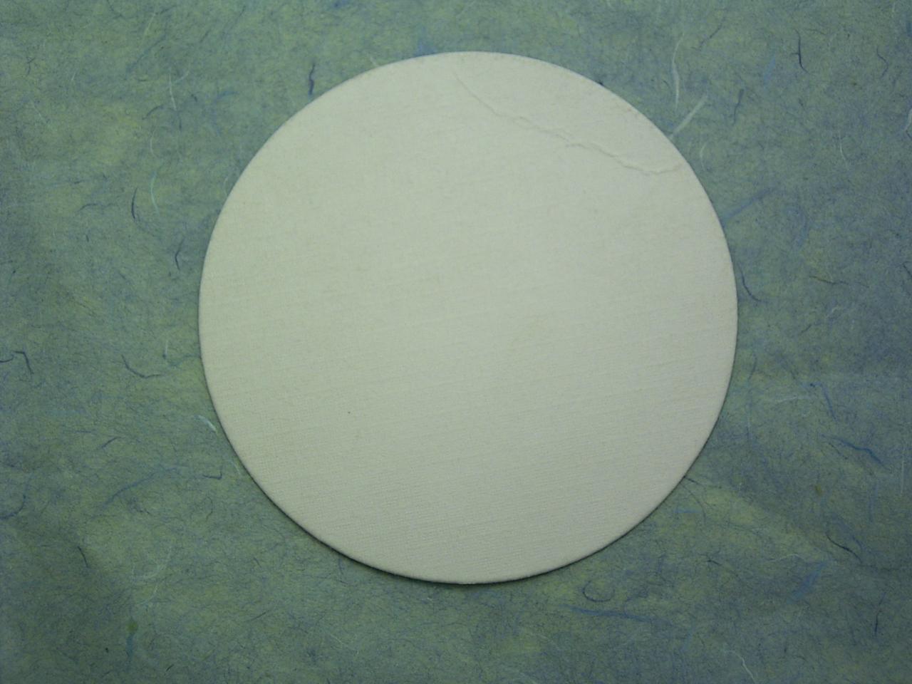 コースター 1mm厚×90mm 丸白 2,000枚