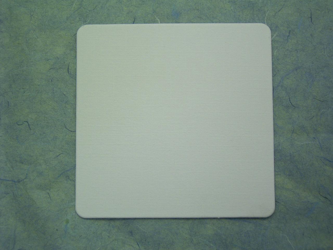 コースター 1mm厚×90mm 角白 2,000枚