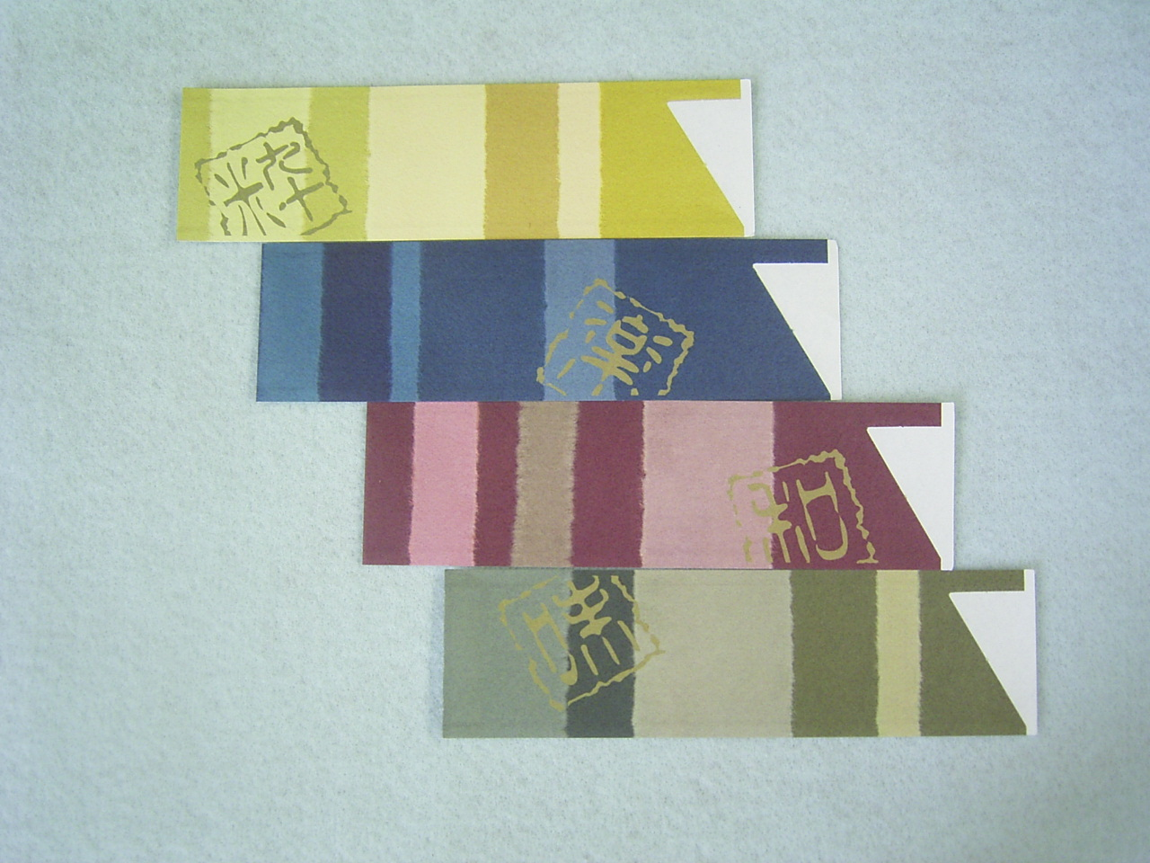 箸袋 ハカマサイズ 彩遊季アソート 4柄各2,500枚 10,000枚 1ケース