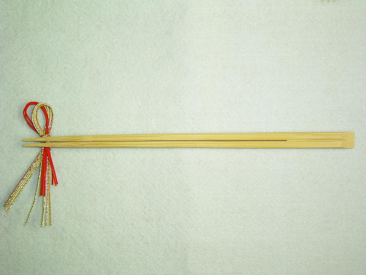 9寸竹箸 先細天削 24cm 100膳