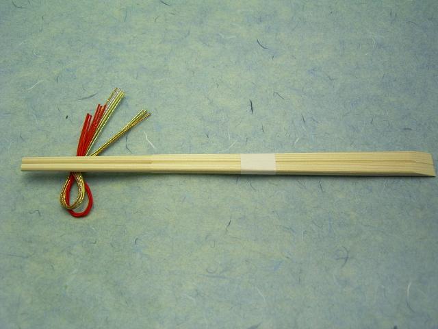 あすか箸 天削白帯付 24cm 1,000膳 1ケース