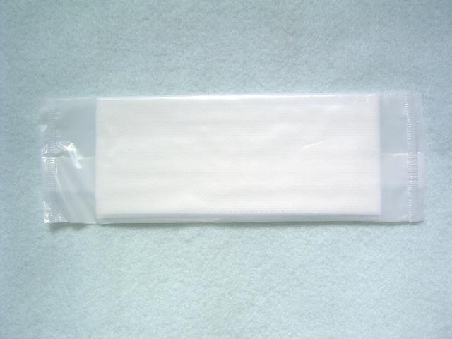 紙おしぼり 平型 無地 クロスクリーン 2,000本入 1ケース