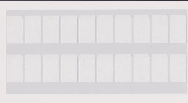 ラベル式帯巻 雲竜紙 2.5cm×4.3cm 1,000枚