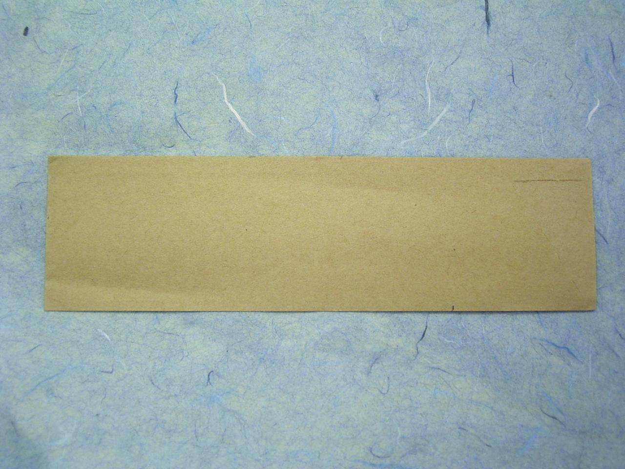 【オリジナル作成】 箸袋 ハカマサイズ ナチュラルミニ 1色刷 10,000枚