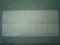 ラベル式帯巻 白 雲竜紙 2.5cm×4.3cm 1,000枚