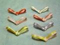 箸置 水引結 7組セット(アソート) 3cm×6.12cm