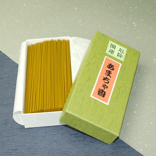 【厄除開運】 やさしい香りのお線香 甘茶香(緑箱)