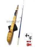 テトラ穴釣り竿|楽しい和竿作り釣具のkase