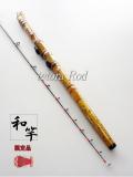 テトラ竿・穴釣り・海老調子 楽しい和竿作り釣具のkase