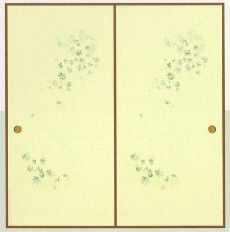 和紙ふすま紙 D-409