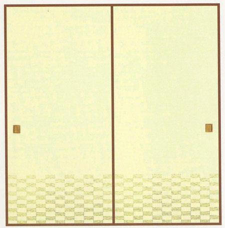 幅広和紙ふすま紙 I-901 巾 120cm