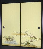 織物ふすま紙 L-1216