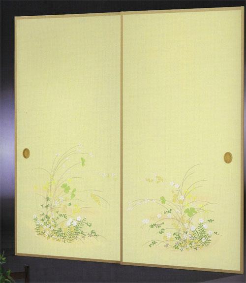 織物ふすま紙 N-1417