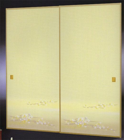 織物ふすま紙 N-1418