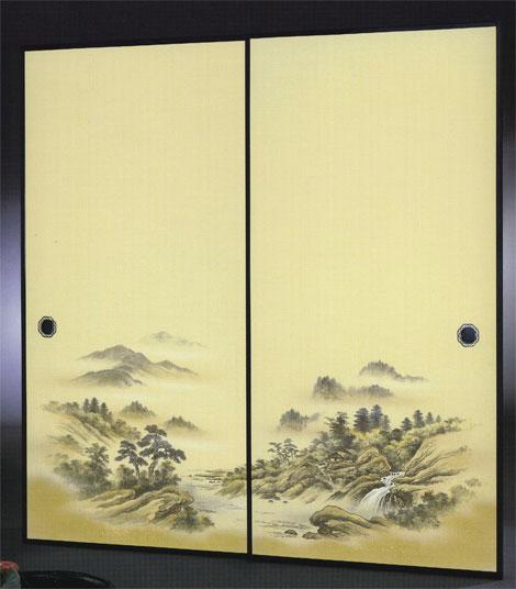織物ふすま紙 K-1108