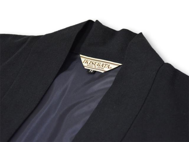 地厚生地羽織 黒