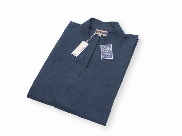和紙しじら織作務衣