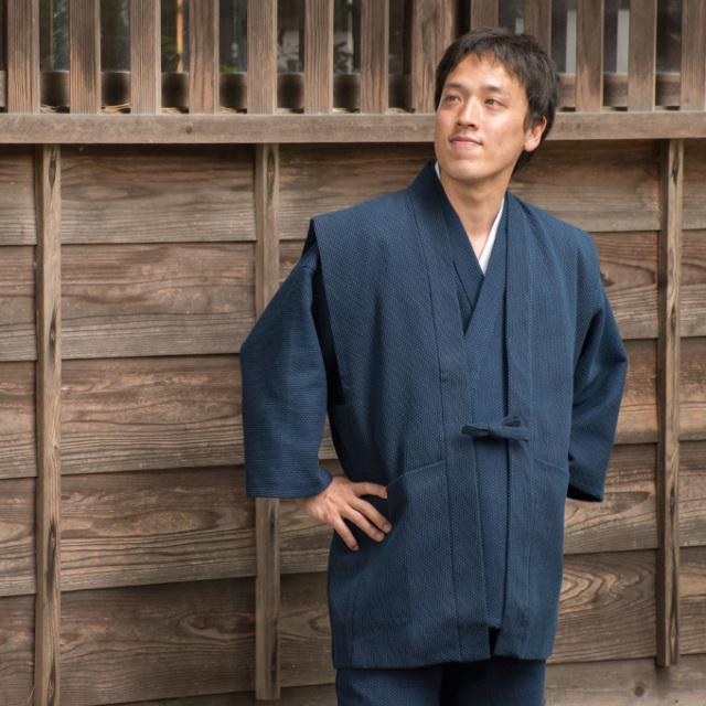 太刺子羽織 No.1 紺