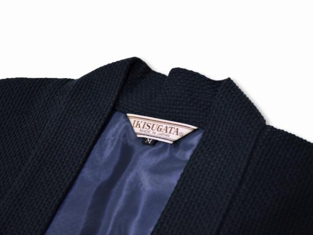 地厚刺子羽織 黒