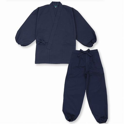 魚子織作務衣