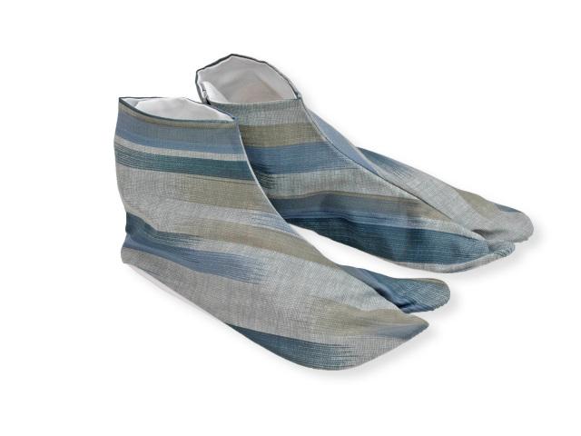 色 木綿 足袋 柄たび