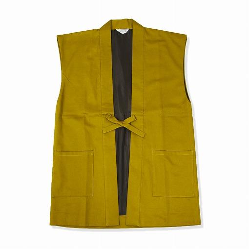 綾織羽織 4番色金茶