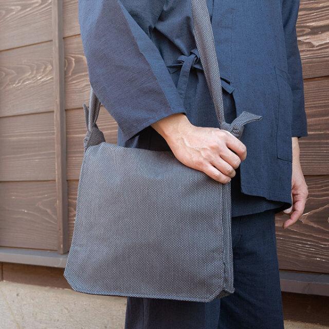 刺子織頭陀袋