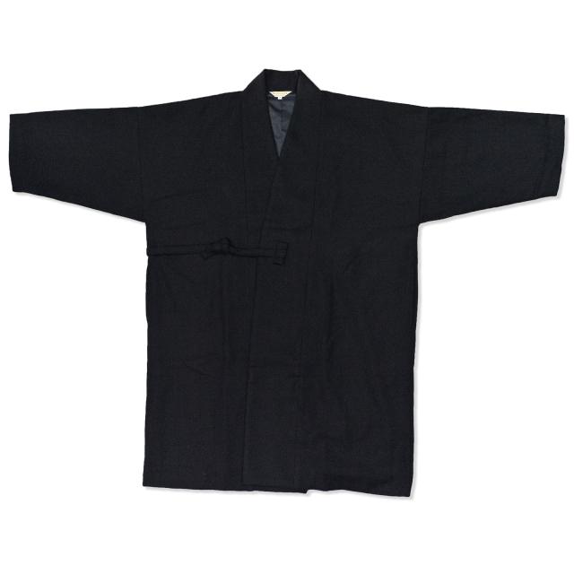 作務衣コート 黒