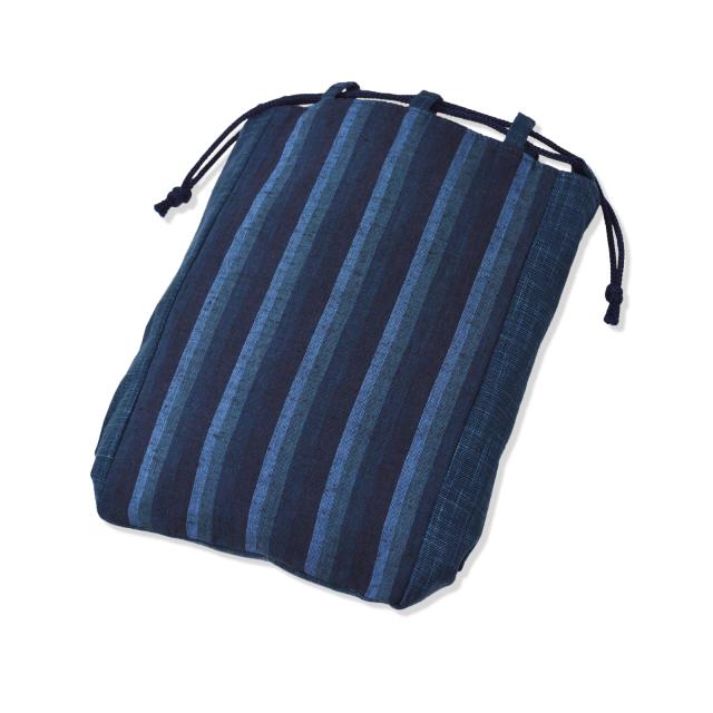 唐桟縞信玄袋