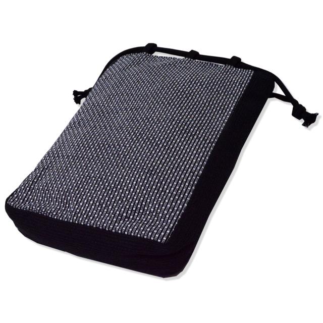 刺子織信玄袋 No.3 グレー