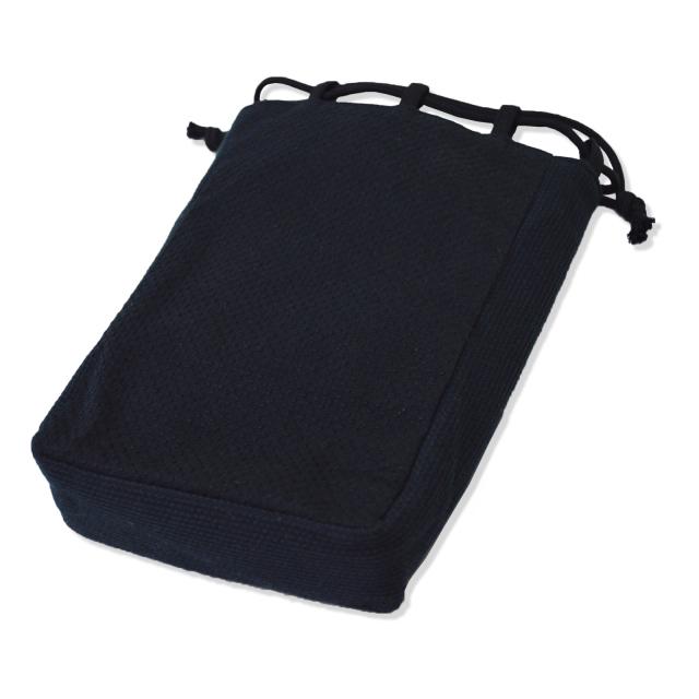 刺子織信玄袋 No.6 黒