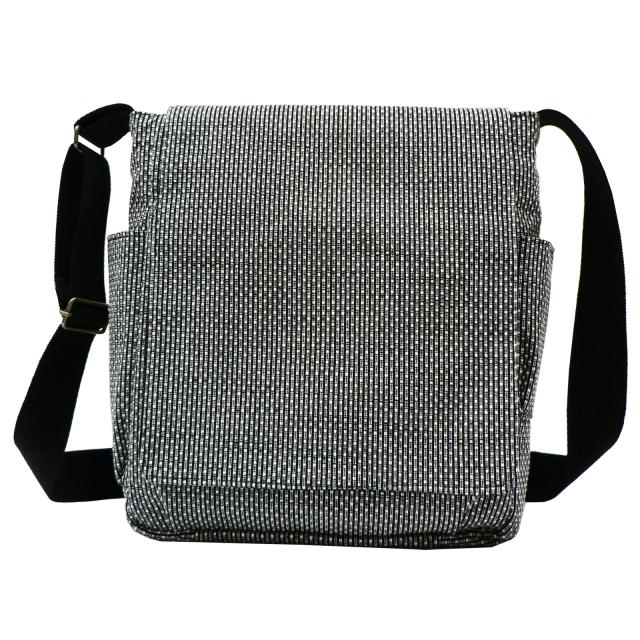 刺子織ショルダーバッグ  No.3 ネズ