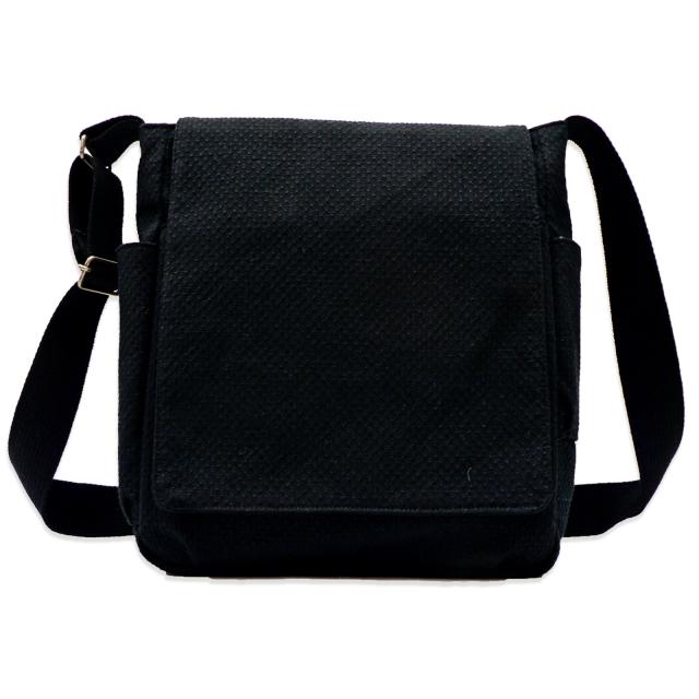 刺子織ショルダーバッグ  No.6  黒