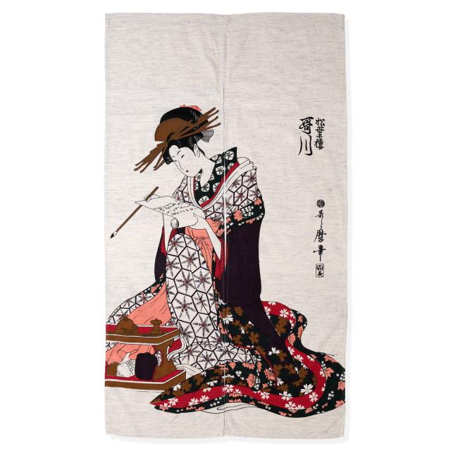 浮世絵のれん 歌川 103