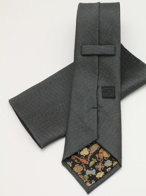 ネクタイ クロコ-緑