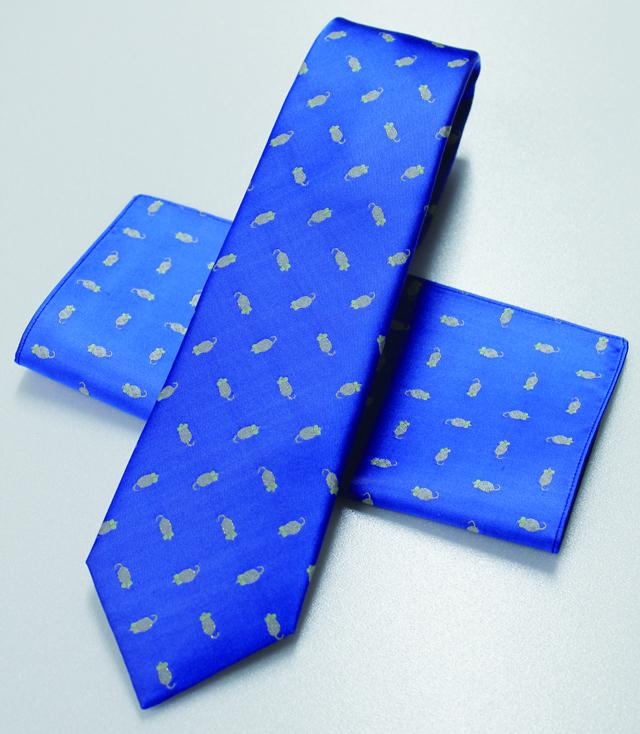 ネクタイねずみ(ブルー)