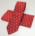 ネクタイいのしし(赤)