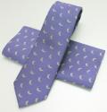 ネクタイいのしし(紫)