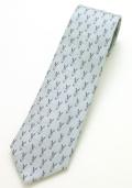 ネクタイ うさぎブルー