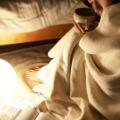 生成り綿毛布