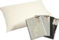 羽毛枕(ダウン70%) 63×43cm 超長綿100サテン生地 枕カバー付